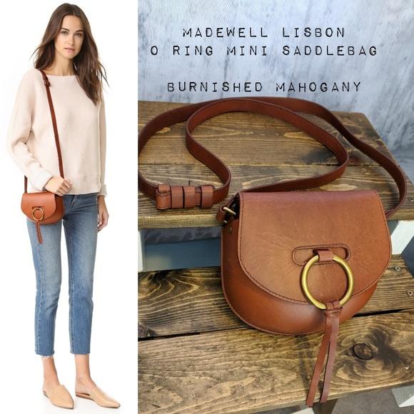 26a7ea7e82c2 Madewell Handbags - Madewell Lisbon O-Ring Mini Saddlebag ✌ 😍